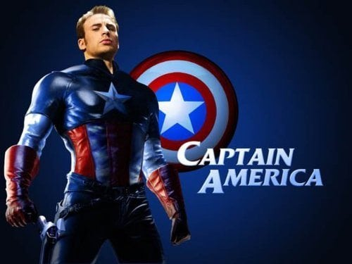 chris evans workout captain america