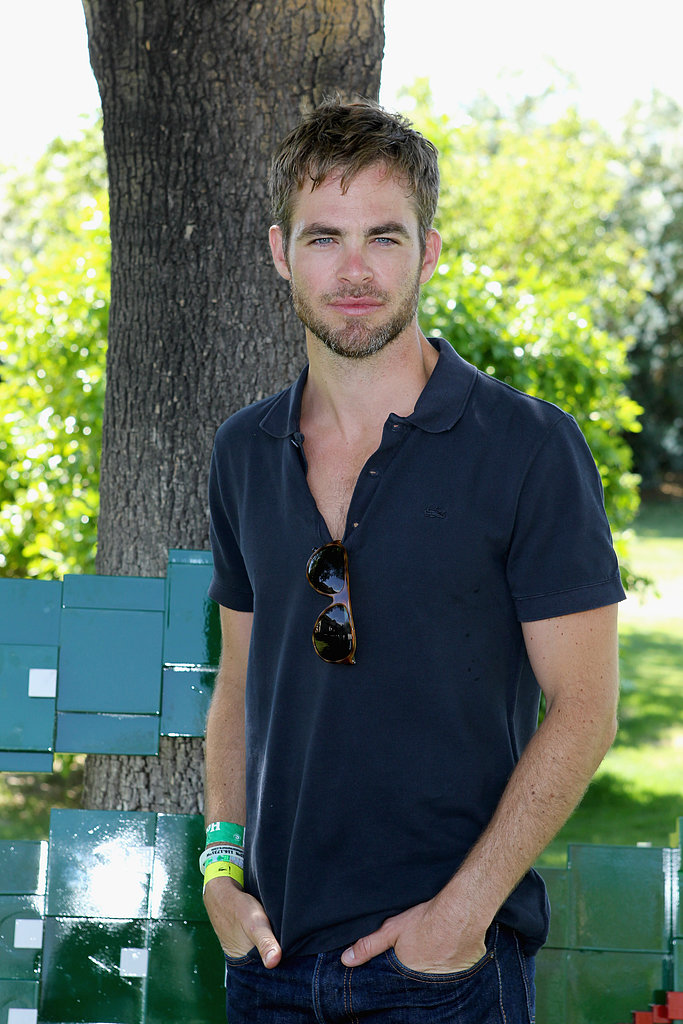 chris pine girlfriends body type