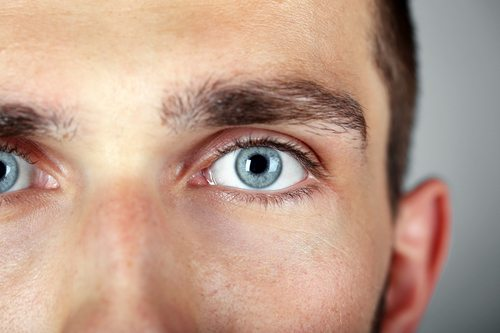 learn about blue eyes - blue eyes man