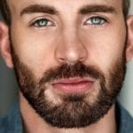 blue eyes chris evans