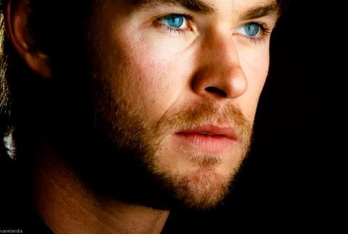 Chris Hemsworth Blue Eyes
