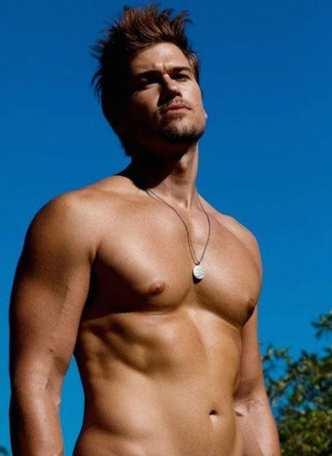 nick zano shirtless muscle