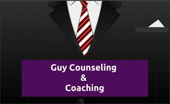 guy counseling and coaching logo