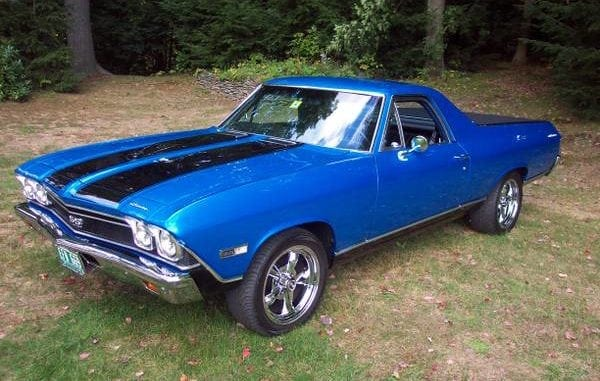muscle car 1968 el camino
