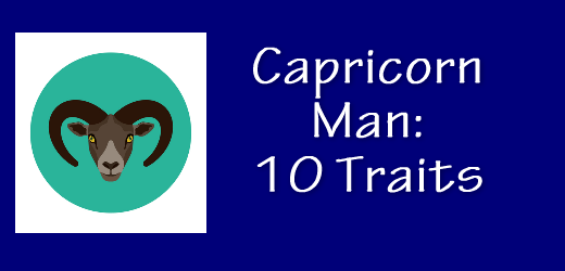 Capricorn man personality traits