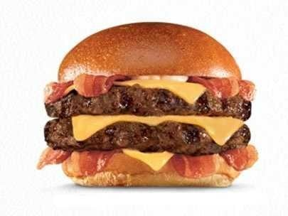 hardees thick burger