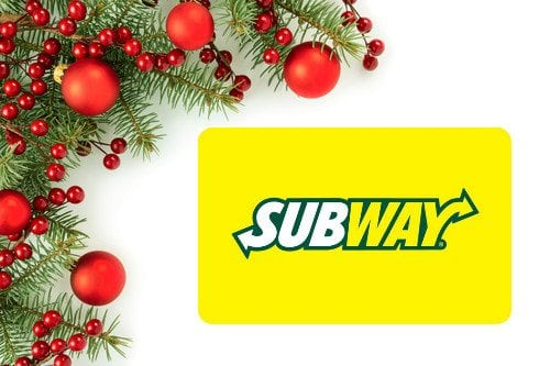 subway gift card stocking stuffer