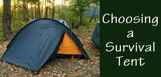 survival tent how to choose