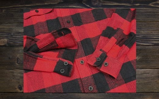 classic men's flannel shirt