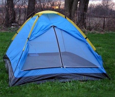survival tent storage