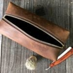 mens grooming kit and dopp bag