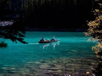 canoe camping trip