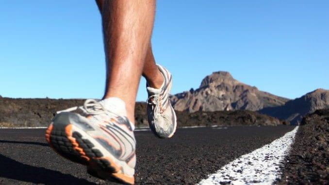 man running memory jogging
