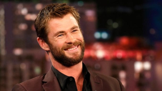 Chris Hemsworth hair and beard