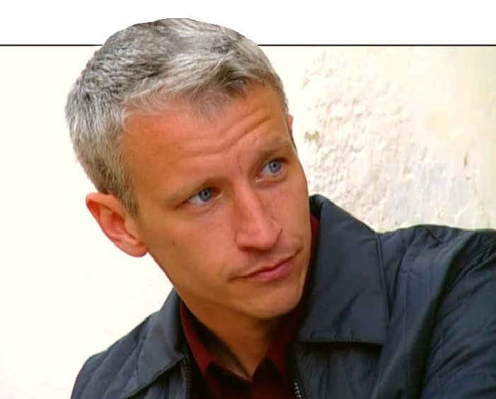anderson cooper grey hair