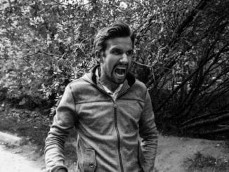 man yelling in anger