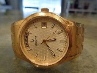 bulova godl watch