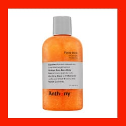 anthony logistics face scrub for men
