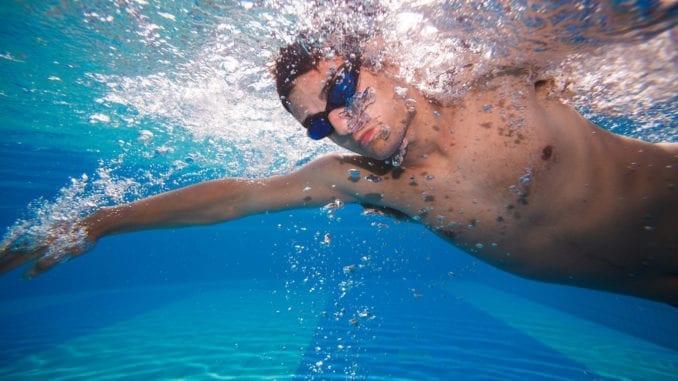 Did you swim underwater?