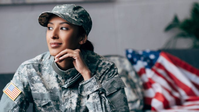 female military member veterans