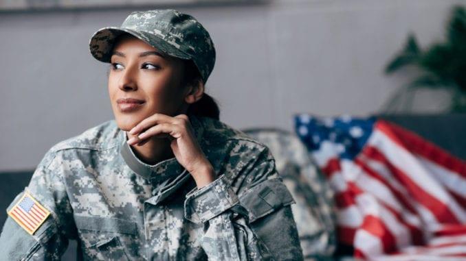 female military member veterans